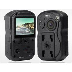 Kamera do auta kompaktní profesionální s FULL HD rozlišením HD1080p s LCD a GPS logger GPS580, černá skříňka, 8 Mpix