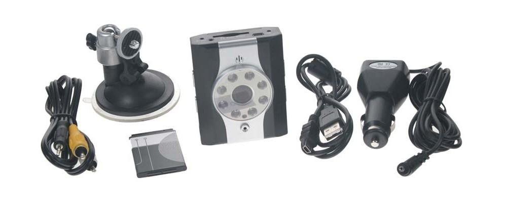 Kamera do auta - sportovní operativní palubní kamera do auta on board černá skříňka se záznamem - HDVR5900