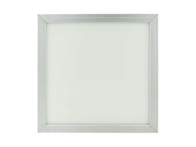 LED panel 18W čtverec stříbrný rám 230V do podhledu 300x300mm + trafo 230V vyberte variantu