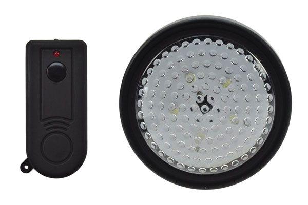 LED světlo s dálkovým ovládáním, 5 LED, 3x AA tužkové baterie, bezdrátové