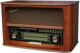Retro rádio RAODSTAR HRA1550US - stolní s CD,USB,SD/MMC AM/FM