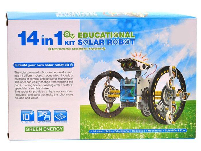 Solární kit-vzdělávcí stavebnice SolarKit 14v1