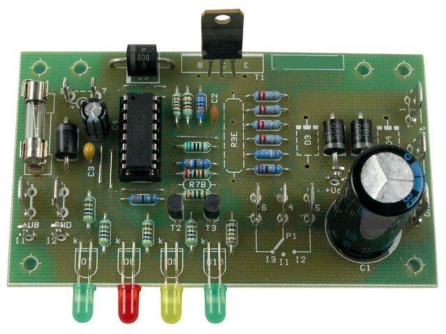 Stavebnice inteligentní nabíječky olověných akumulátorů 12V, tři režimy nabíjení