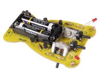 """Stavebnice K127 miniaturní robot """"brouk"""" napájení 2x1,5V AAA baterie"""