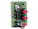 Stavebnice metronom včetně reproduktoru, nastavitelná rychlost a hlasitost, napájení z 9V baterie