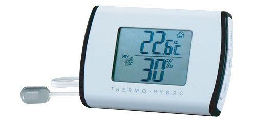 Teploměr digitální s vlhkoměrem THW301, vnitřní i venkovní teplota a vlhkost