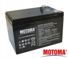 Baterie olověná 12V/12Ah - Trakční MOTOMA
