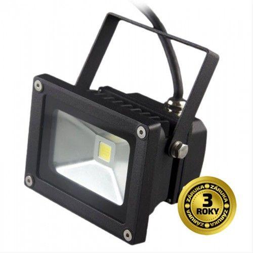 Reflektor LED venkovní 10W/700lm, 6000K (studená bílá), MCOB, AC 230V, šedý II