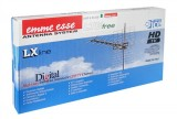 Anténa 44LX45L balená v krabici Emme Esse logaritmicko-periodická, UHF pro DBV-T příjem