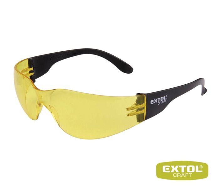 Ochranné brýle žluté EXTOL UV filtr
