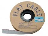 AWG28-10 kabel plochý šedý