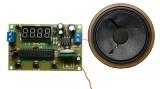 Stavebnice PT062 FM rádio s LED displejem