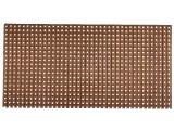 Univerzální vrtaná deska DPS 100x100 Cu spoje - pruhy