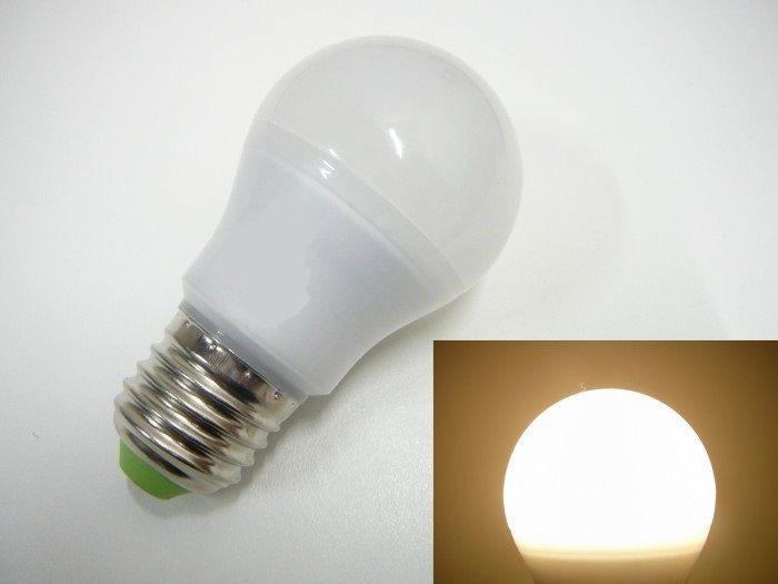 Žárovka LED E27/230V 6W SA - teplá bílá úhel svitu 360°