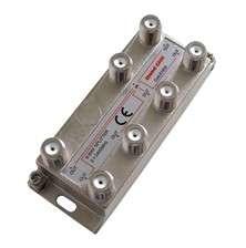 Rozbočovač antenní/satelitní rozbočovač PA6 na 6F konektory
