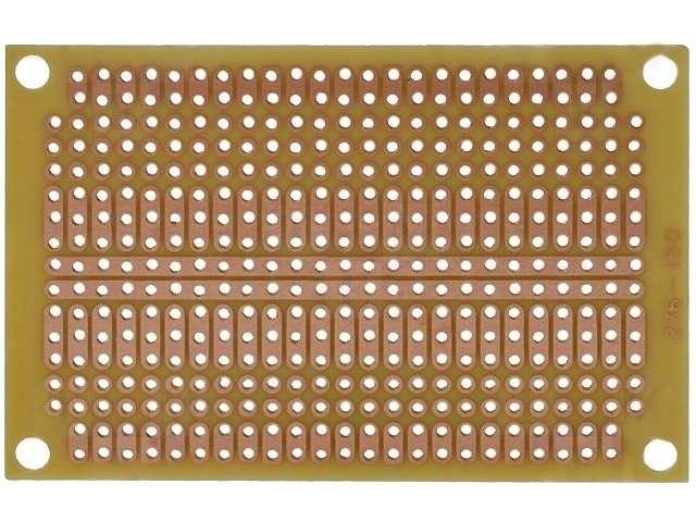 Univerzální vrtaná deska plošného spoje DPS PC04