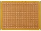 Univerzální vrtaná deska DPS PC01-plošný spoj