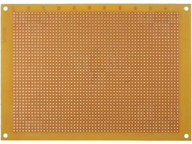Univerzální vrtaná deska plošného spoje DPS PC01, 2200 bodů