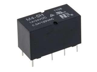 RELÉ M4-06H 2x přepínací kontakt 1A, 6VDC