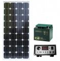 Ostrovní solární systém 80W / 12V