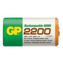 Baterie nabíjecí C (R14) 2200mA NiMh