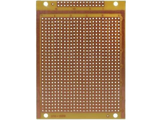 Univerzální vrtaná deska plošného spoje DPS PC12