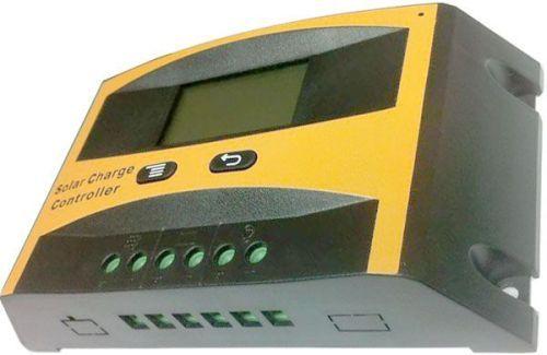 Solární regulátor nabíjení 20A LCD2420C-20 12V/24V ochrana před přebitím, vybitím