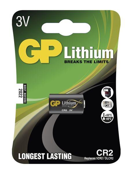 Baterie CR2 3V foto lithiová GP