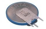 Baterie CR2430P 3V s vývody na stojato do DPS