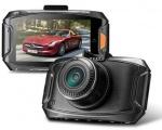 Kamera do auta Profesionální 3Mpix černá skříňka SmartCam 1296P čip A7 GPS