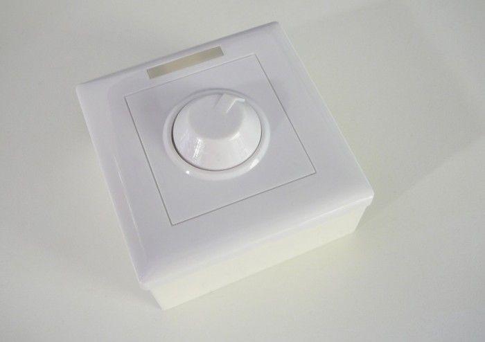 LED ovladač-stmívač M2 dálkové manuální ovládání 12-24V/8A, 96W