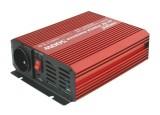 Měnič napětí 12V/230V,400W+USB čistá sinusovka
