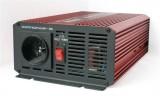 Měnič napětí 12V/230V,600W+USB čistá sinusovka