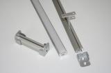 AL lišta-profil K - kruhový pro LED pásky s nacvakávacím difusorem - barva stříbrná