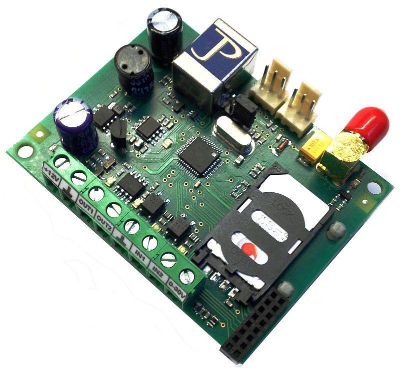 GSM modul MB-95 N (2000) - komunikátor multifunkční, spínač, termostat, alarm, hlásič událostí, ovládaný mobilním telefonem, časování, plánování událostí, doplněk k zabezpečovací ústředně, odesílá sms