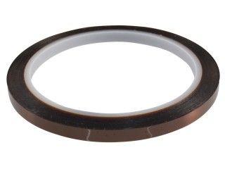 Kaptonová páska S-KAPTON TAPE 6mmX33m, pro ochranu (maskování) při pájení na vlně