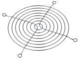 LFTG201-8 mřížka kovová k ventilátoru 120x120mm