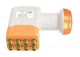 Satelitní konvertor Golden Media GI208+ 0.1dB octo