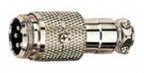 XLR 4VK-ŠR 4-piny MIC vidlice na kabel