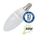 LED žárovka svíčka E14/230V (DVZLED) 5W - bílá přírodní 4000-4500K