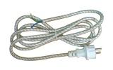 Flexa šňůra 230V 3x0,75mm2 opředená 2,4m k žehličce