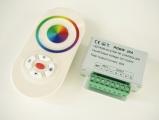 LED dálkový ovladač RGBW LED pásků 20A 12-24Vss RF ovládání