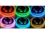 LED pásek RGBWW teplá bílá 4v1 24Vss 19,6W/m, 60LED/m vnitřní samolepící, cena za 1m
