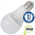 LED žárovka A60, E27/230V, 15W - bílá teplá (DVZLED)