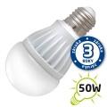 LED žárovka A60, E27/230V, 7W - bílá teplá (DVZLED)