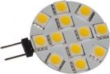 LED žárovka G4 12xSMD5050, 12V/2,5W