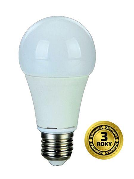 LED žárovka, klasický tvar, 10W, E27, 3000K, 270°, 810lm - bílá teplá, odpovídá tradiční 60 W žárovce