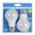 LED žárovka Retlux REL 7 LED A60 2x7W E27 dvojice žárovek, 2ks, 3000 K (bílá teplá), odpovídá 40 W žárovce