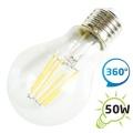 LED žárovka retro I, A60 E27/230V 6W - bílá teplá, filament (DVZLED)