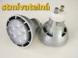 LED žárovka GU10 D7W stmívatelná